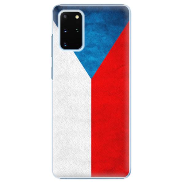 Plastové pouzdro iSaprio - Czech Flag - Samsung Galaxy S20+
