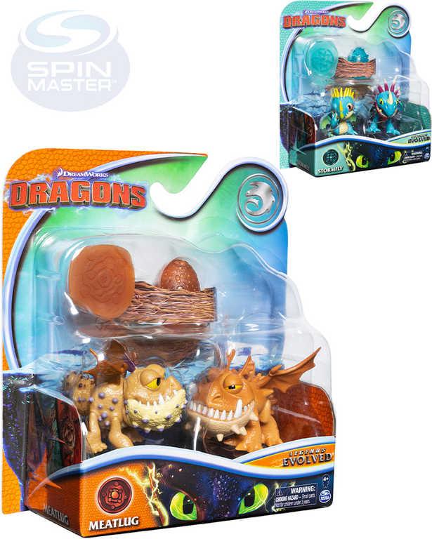 SPIN MASTER Jak vycvičit draka 3 Evoluční balení 2 figurky s vejcem a doplňky
