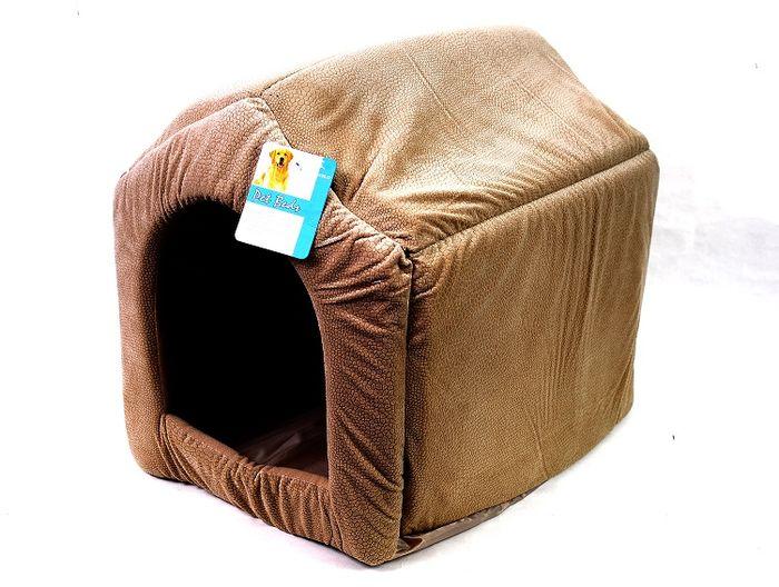 Psí domek béžový - 40x35 cm