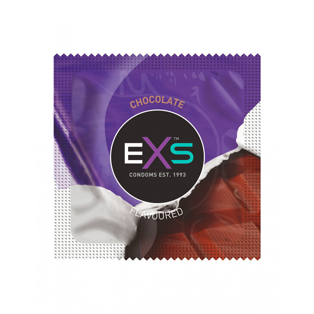 Kondom Exs Flavoured Chocolate