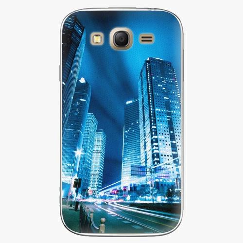 Plastový kryt iSaprio - Night City Blue - Samsung Galaxy Grand Neo Plus