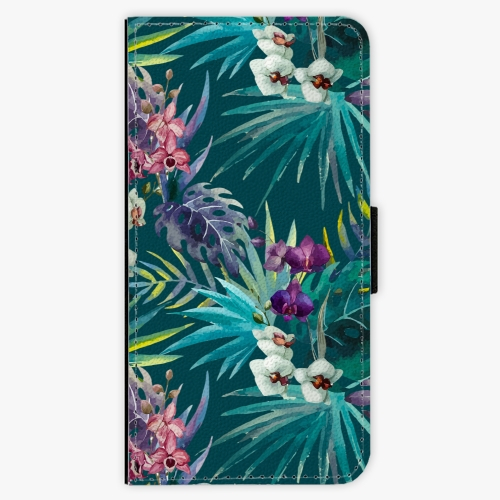 Flipové pouzdro iSaprio - Tropical Blue 01 - Samsung Galaxy S9