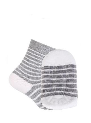 Dětské ponožky Frotte ABS G24.N37 - Gatta - Šedo-bílá/21-23