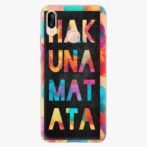Plastový kryt iSaprio - Hakuna Matata 01 - Huawei P20 Lite