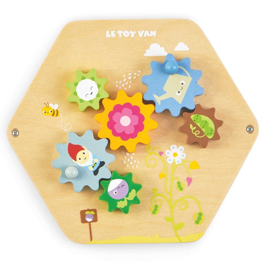 Le Toy Van Petilou panel ozubená kolečka