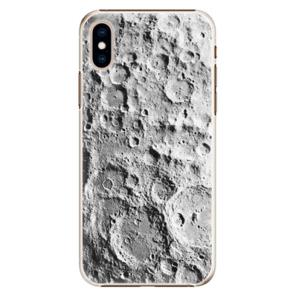 Plastové pouzdro iSaprio - Moon Surface - iPhone XS