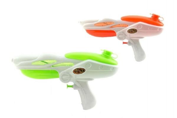 Vodní pistole plast 27cm asst 2 barvy v sáčku