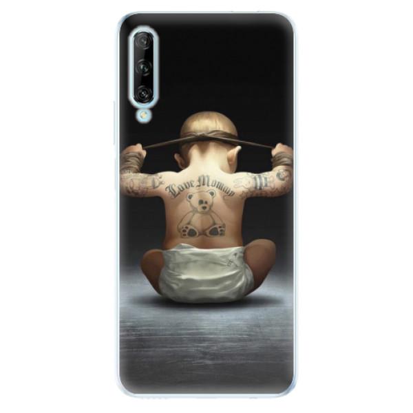 Odolné silikonové pouzdro iSaprio - Crazy Baby - Huawei P Smart Pro