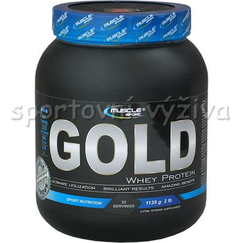 Whey protein Gold - 1135g-pistacie-s-kokosem