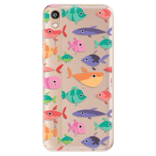 Odolné silikonové pouzdro iSaprio - Fish pattern 01 - Huawei Honor 8S