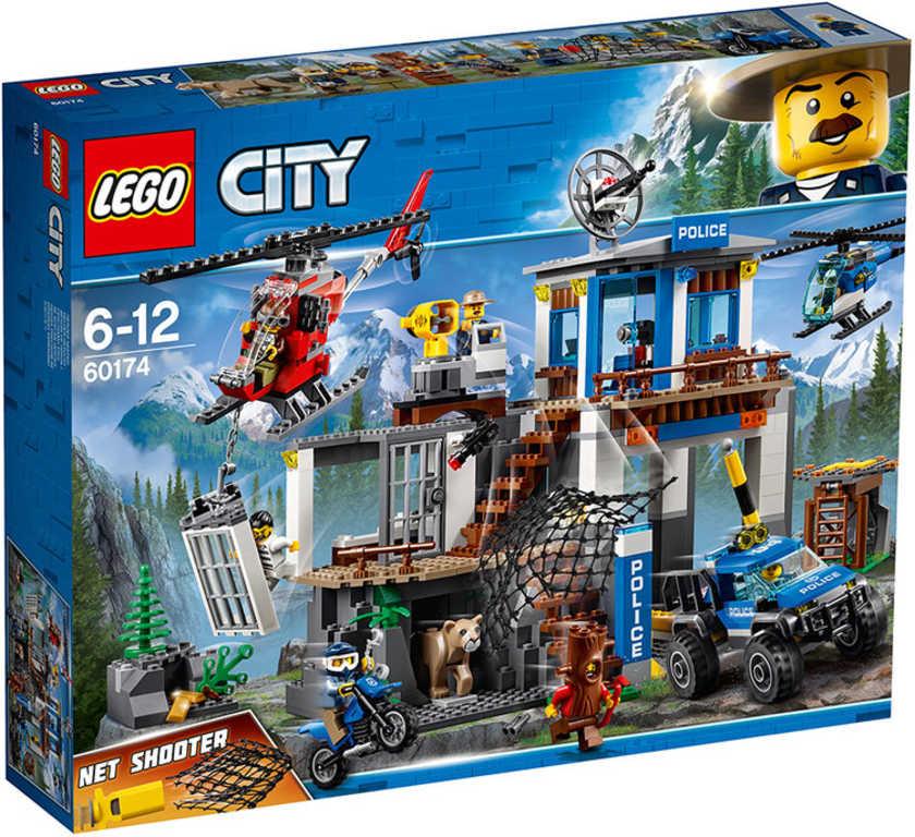 LEGO CITY Horská policejní stanice 60174