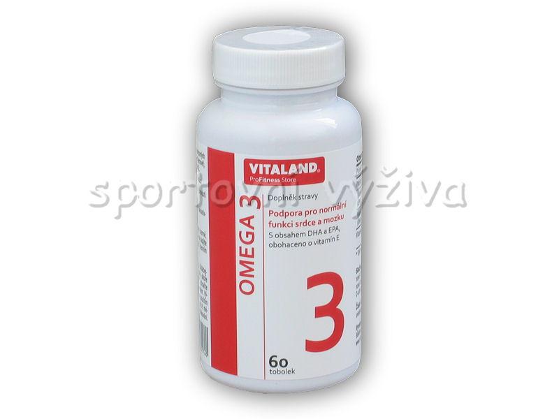 Vitaland Omega 3 60 kapslí