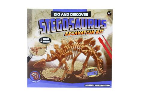Archeologické tesání- Stegosaurus