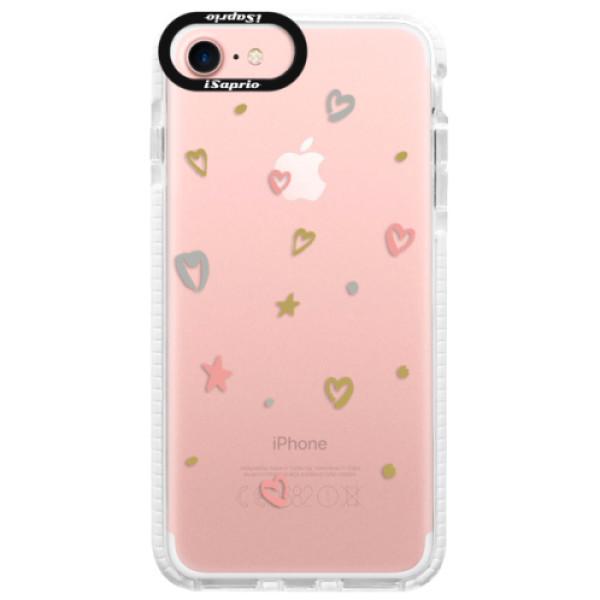 Silikonové pouzdro Bumper iSaprio - Lovely Pattern - iPhone 7