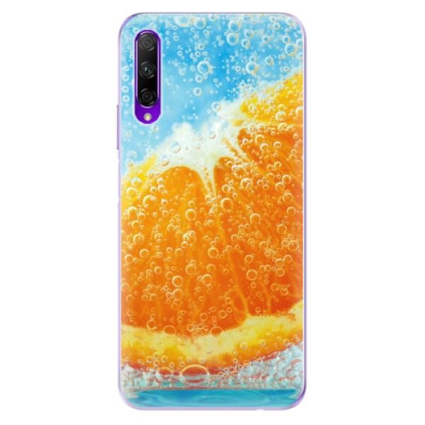Odolné silikonové pouzdro iSaprio - Orange Water - Honor 9X Pro