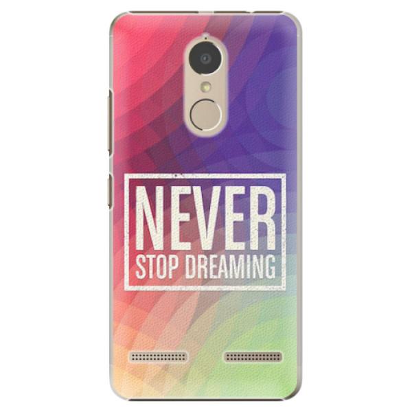 Plastové pouzdro iSaprio - Dreaming - Lenovo K6
