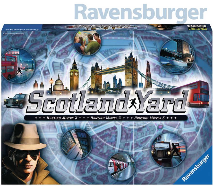RAVENSBURGER Hra Scotland Yard *SPOLEČENSKÉ HRY*
