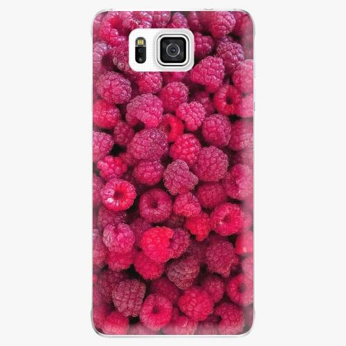 Plastový kryt iSaprio - Raspberry - Samsung Galaxy Alpha