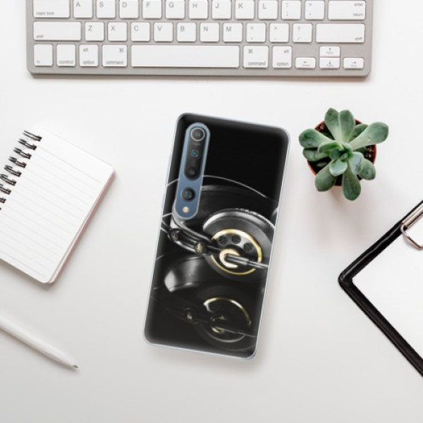 Odolné silikonové pouzdro iSaprio - Headphones 02 - Xiaomi Mi 10 / Mi 10 Pro