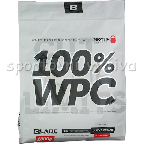 BS Blade 100% WPC Protein - 1800g-jahoda