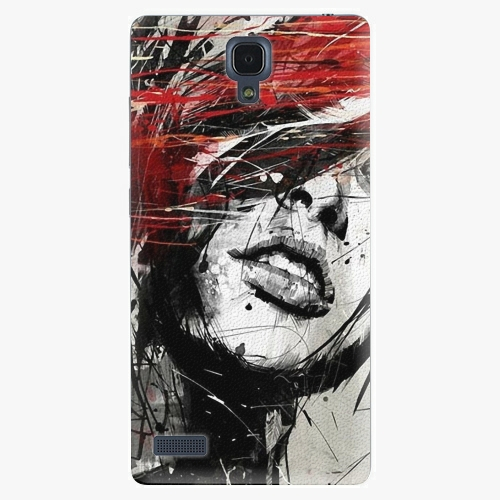 Plastový kryt iSaprio - Sketch Face - Xiaomi Redmi Note