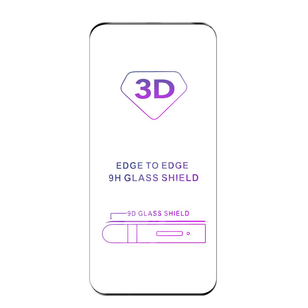 Tvrzené sklo iSaprio 3D BLACK pro Samsung Galaxy S20