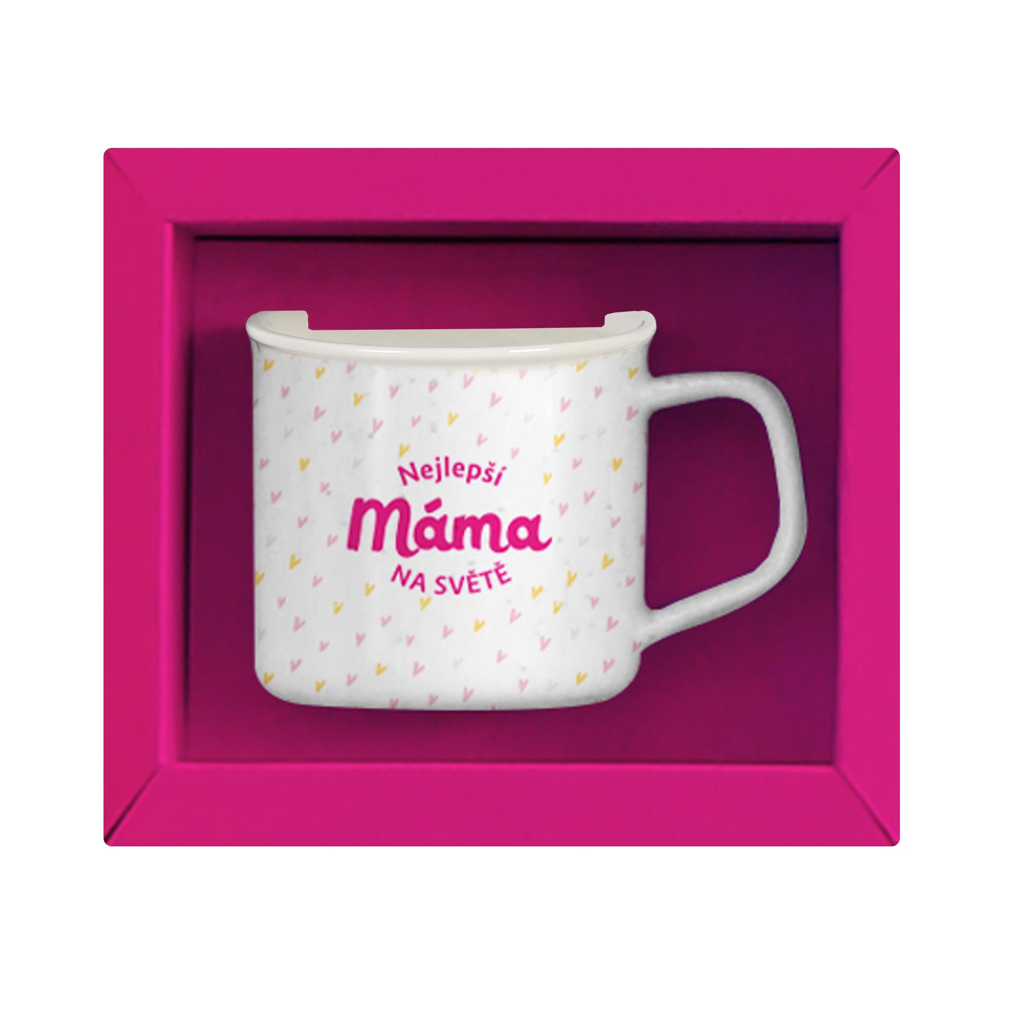 Sada hrnku s čajem - Máma