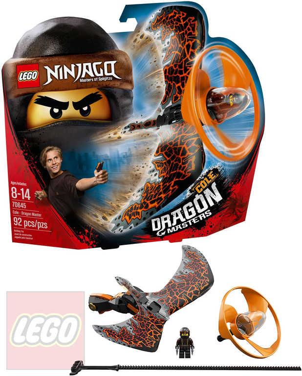 LEGO NINJAGO Dračí mistr Cole 70654 STAVEBNICE