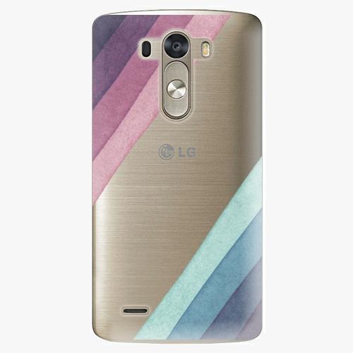 Plastový kryt iSaprio - Glitter Stripes 01 - LG G3 (D855)