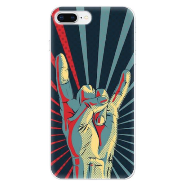 Odolné silikonové pouzdro iSaprio - Rock - iPhone 8 Plus