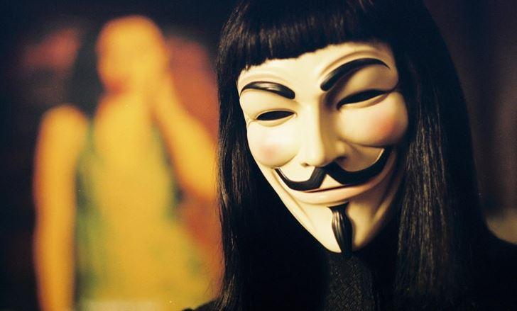 Maska V jako Vendeta