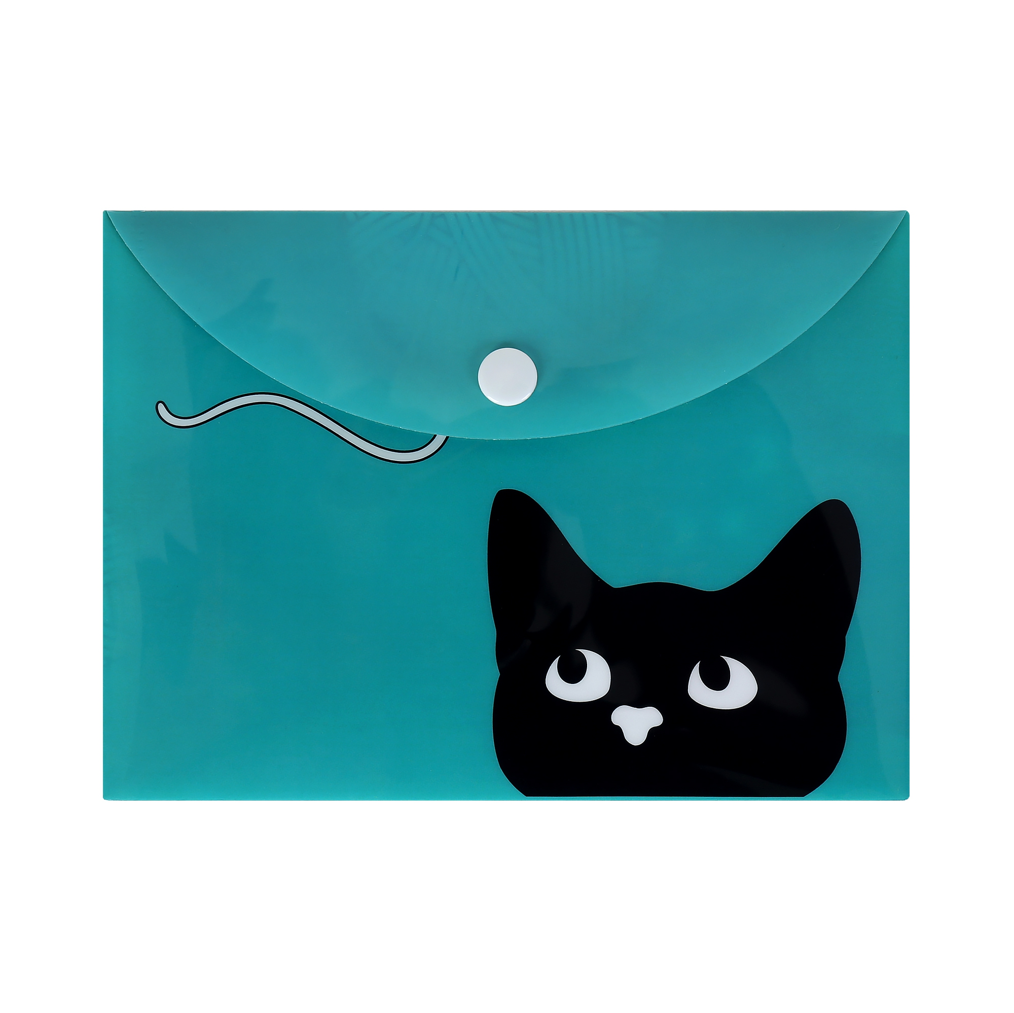 Pouzdro na dokumenty B6 - Kočka