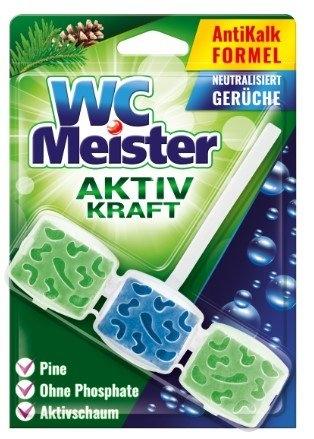 WC Meister Aktiv Kraft vůně lesa WC blok, 45 g