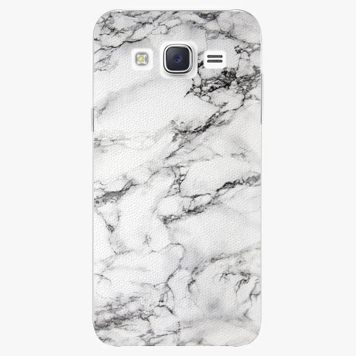 Plastový kryt iSaprio - White Marble 01 - Samsung Galaxy J5