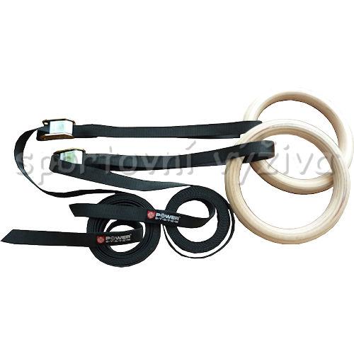 PowerSystem gymnastické kruhy GYMNASTIC RINGS