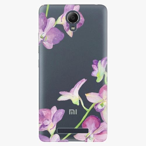 Plastový kryt iSaprio - Purple Orchid - Xiaomi Redmi Note 2