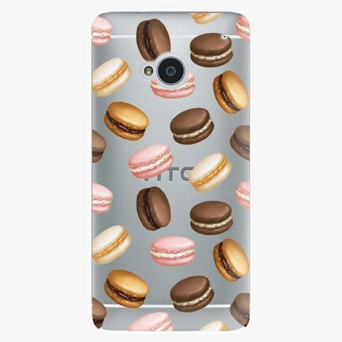 Plastový kryt iSaprio - Macaron Pattern - HTC One M7