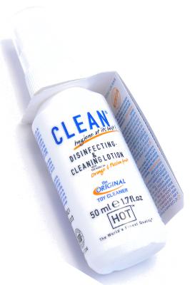 HOT Dezinfekční spray na erotické pomůcky - 50ml