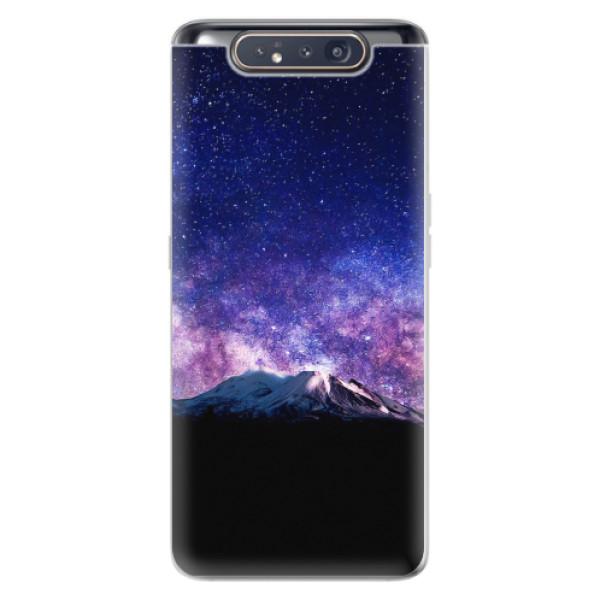 Odolné silikonové pouzdro iSaprio - Milky Way - Samsung Galaxy A80