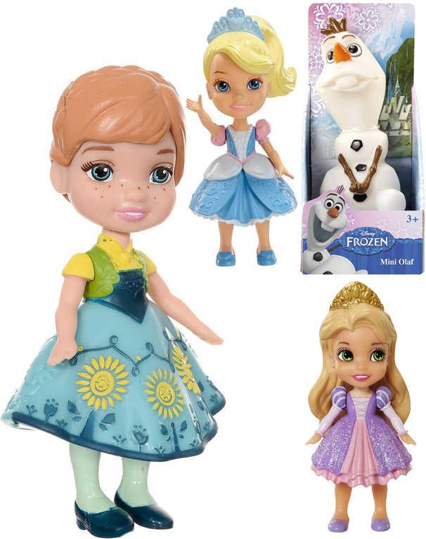 Pohádková Disney mini postavička 8cm panenka různé druhy figurka plastová