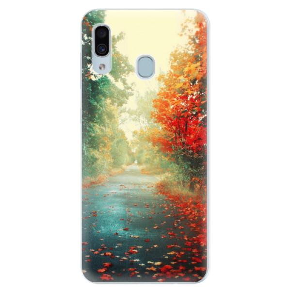 Silikonové pouzdro iSaprio - Autumn 03 - Samsung Galaxy A30
