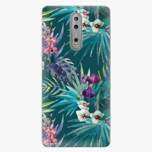 Plastový kryt iSaprio - Tropical Blue 01 - Nokia 8