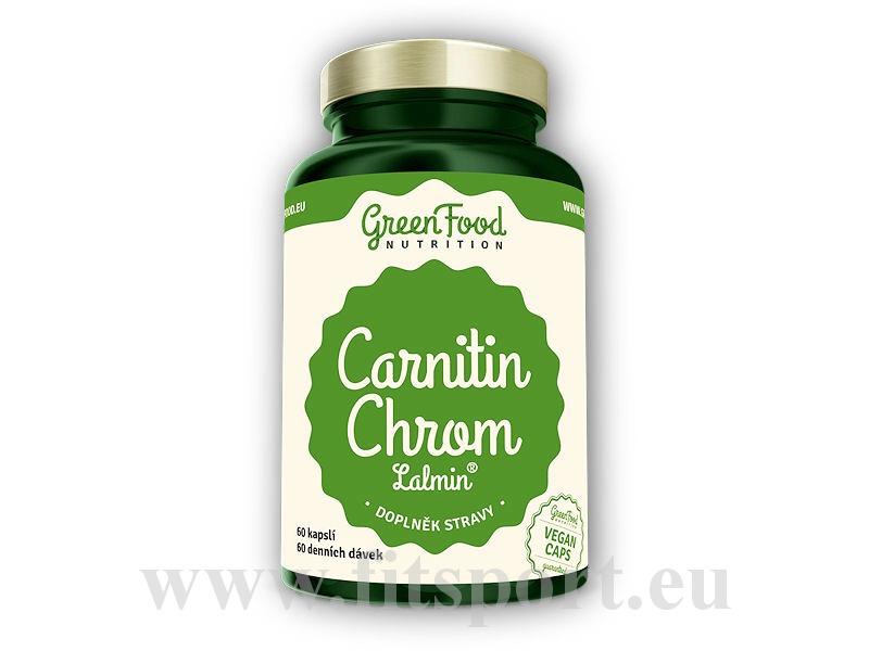 Carnitin Chrom lamin 60 vegan kapslí