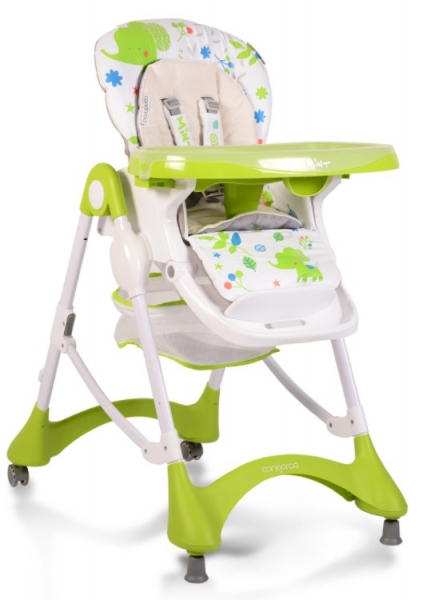 Cangaroo Dětská jídelní židlička Mint - zelená
