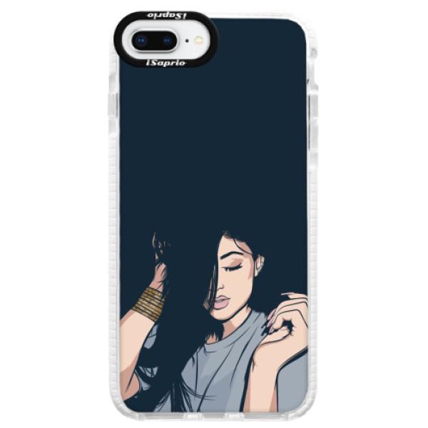 Silikonové pouzdro Bumper iSaprio - Swag Girl - iPhone 8 Plus