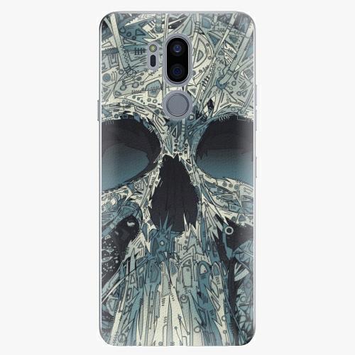 Plastový kryt iSaprio - Abstract Skull - LG G7
