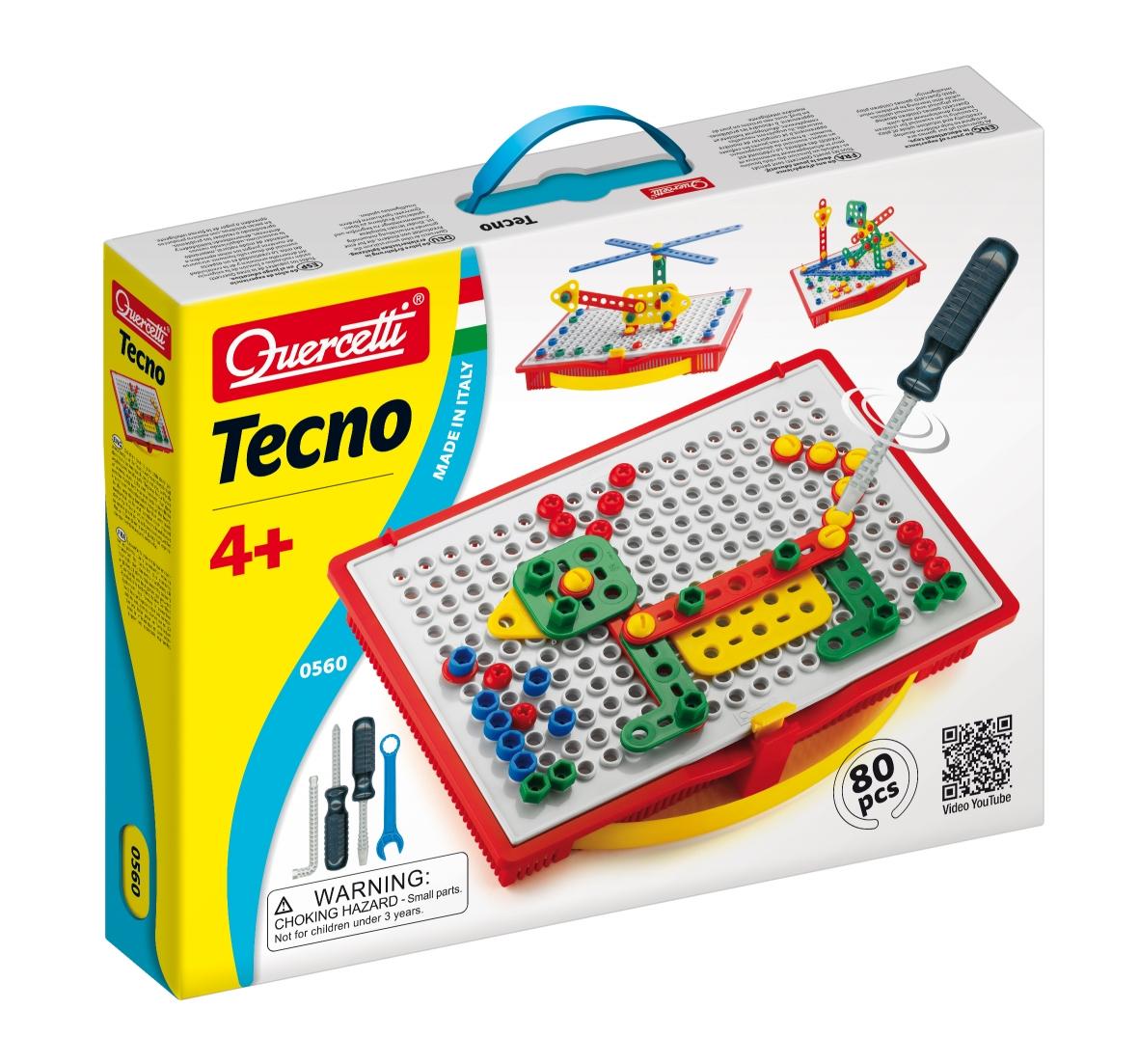Quercetti Tecno 80 ks v kufříku 0560