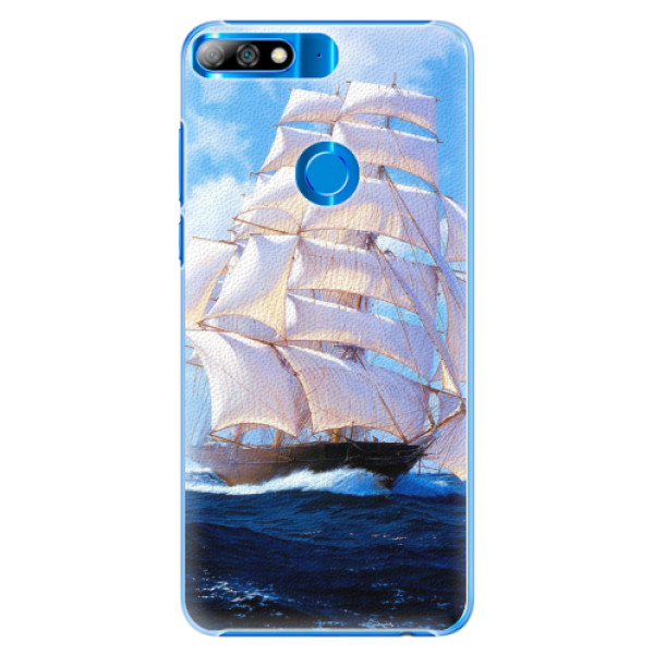 Plastové pouzdro iSaprio - Sailing Boat - Huawei Y7 Prime 2018