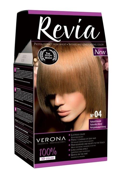 Barva na vlasy přírodní blond 04