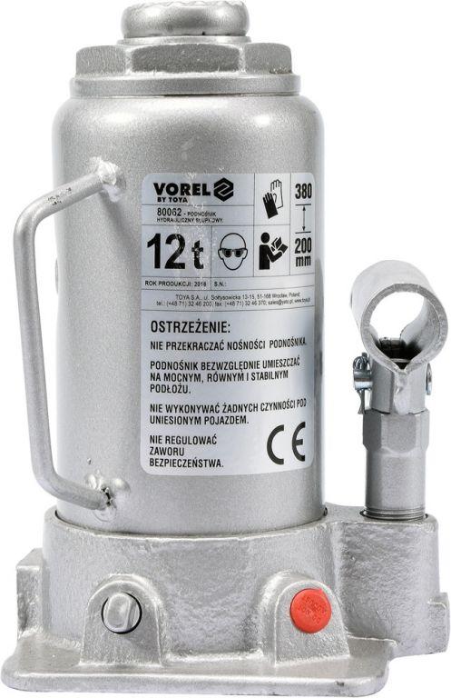Hever hydraulický pístový - 12 t